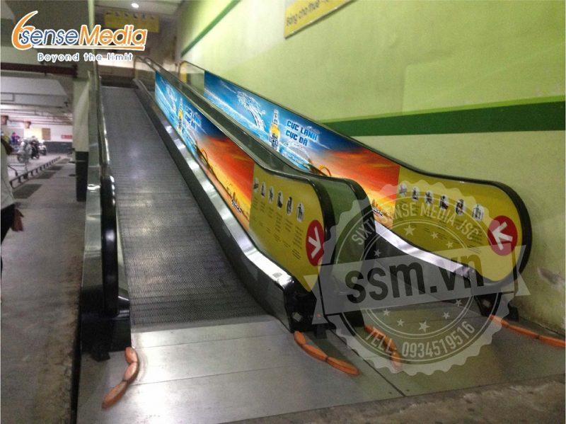 Quảng cáo tại siêu thị Big C Vĩnh Phúc