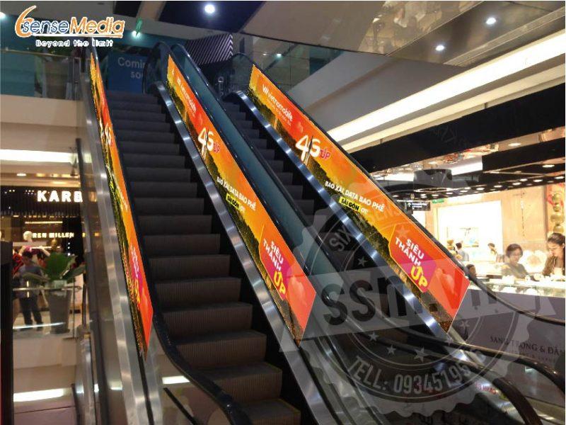 Quảng cáo tại Lotte Mart