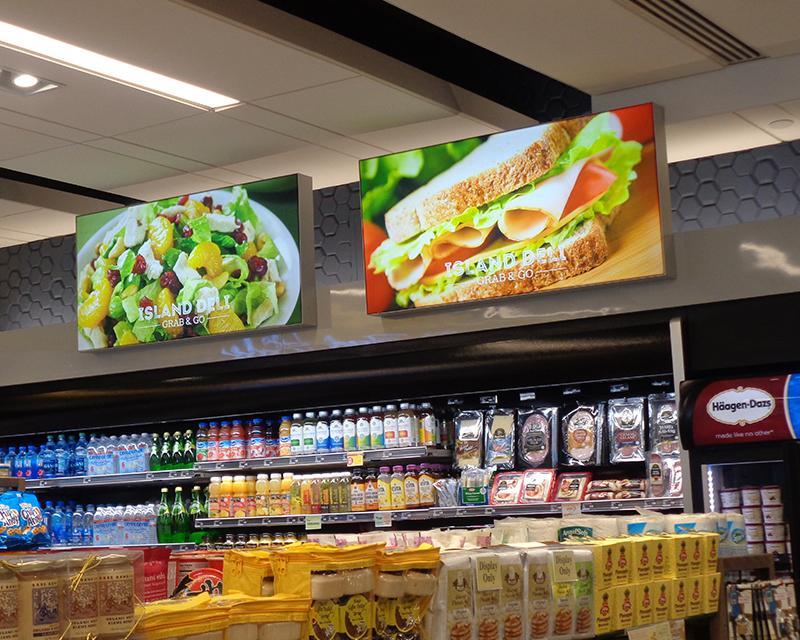 Quảng cáo hộp đèn tại siêu thị: Định hướng cho thương hiệu