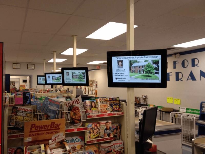 Siêu thị có phải địa điểm lý tưởng để quảng cáo LCD?