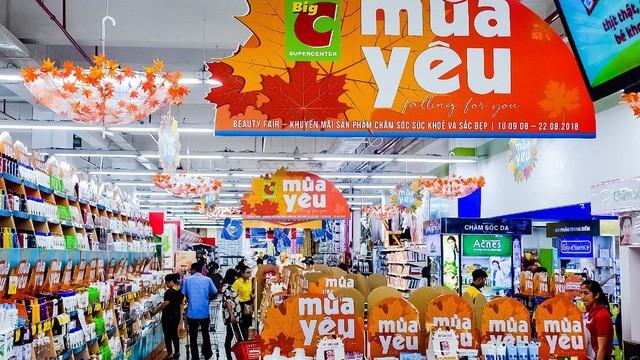 Quảng cáo tại hệ thống siêu thị Big C