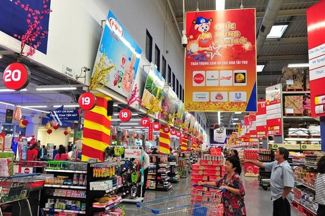 Quảng cáo tại siêu thị Mega Market