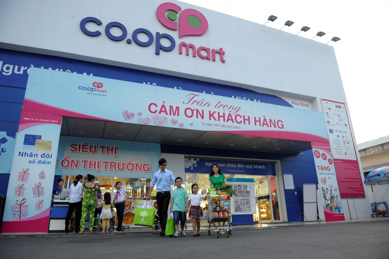 Quảng cáo tại Co.opmart – Chuỗi siêu thị vàng trong làng quảng cáo