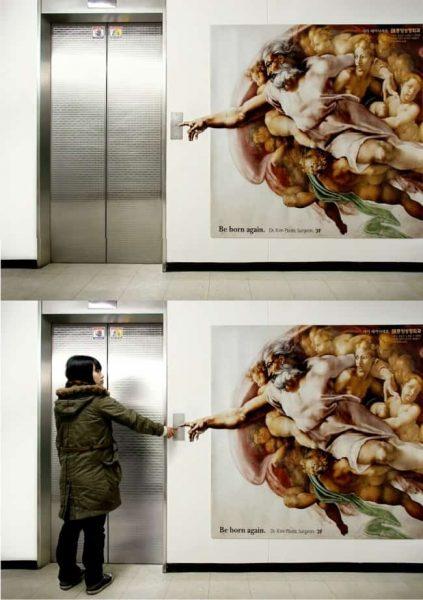 """18 ý tưởng quảng cáo độc đáo có """"1-0-2"""" trong thang máy"""
