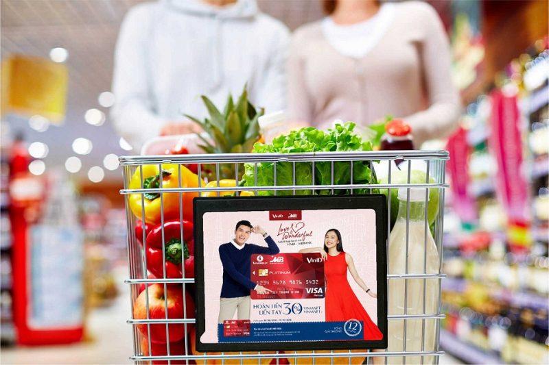 4 hiệu quả bất ngờ quảng cáo xe đẩy siêu thị mang lại