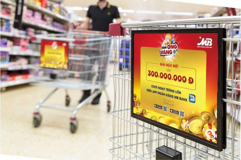 Quảng cáo trên xe đẩy siêu thị – Phủ rộng thương hiệu khắp Big C