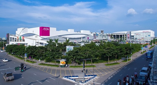 Quảng cáo tại siêu thị, TTTM Aeon Mall trên toàn quốc