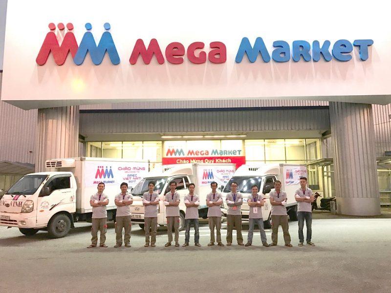 Đẩy mạnh thương hiệu với quảng cáo trên xe đẩy siêu thị Mega Market