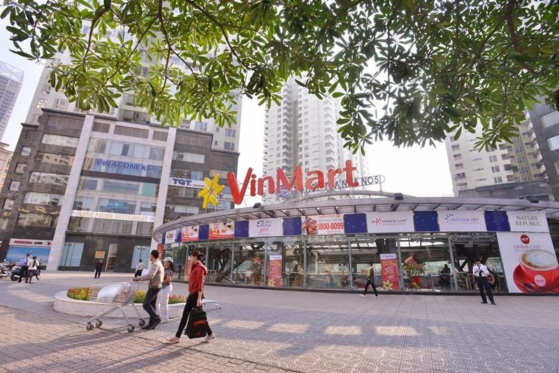 Quảng cáo tại chuỗi siêu thị VinMart trên toàn quốc