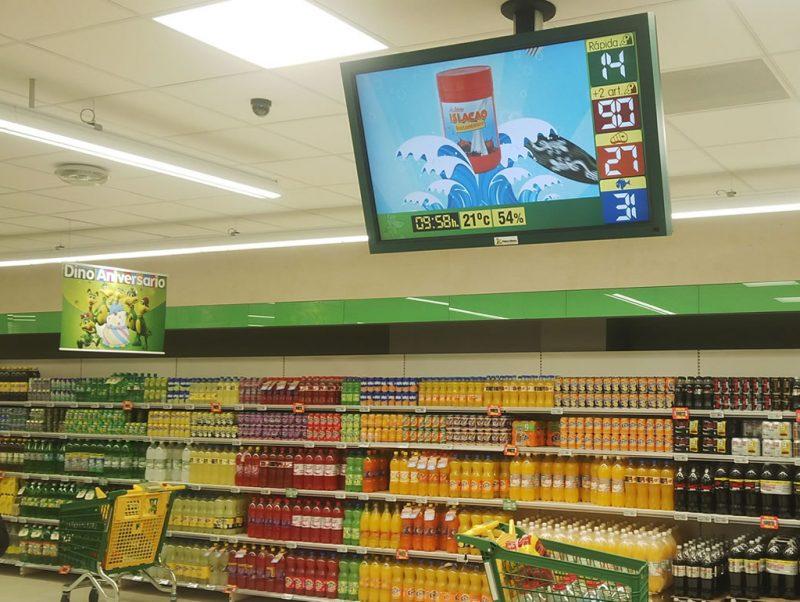quảng cáo tại siêu thị Big C Vinh