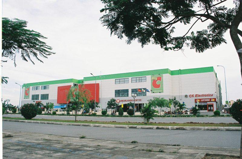 quảng cáo tại siêu thị Big C Hải Phòng