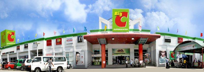 Quảng cáo tại siêu thị Big C kết nối với người tiêu dùng Thanh Hóa