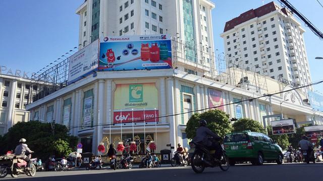 quảng cáo tại siêu thị Big C Đà Nẵng