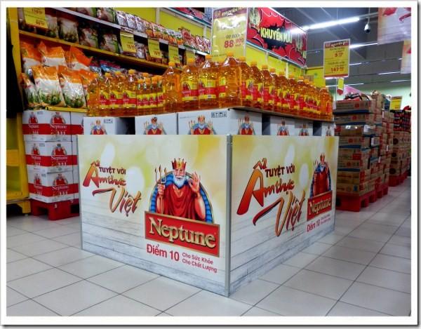 Lan tỏa và xây dựng thương hiệu bằng quảng cáo tại siêu thị Big C Hạ Long