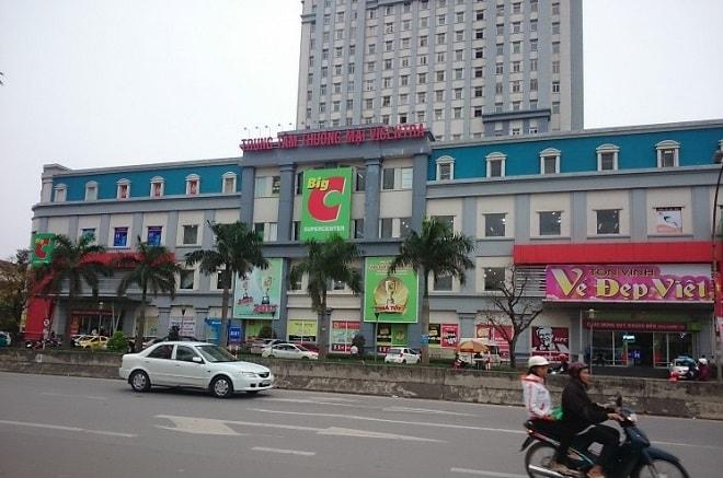Quảng cáo tại siêu thị Big C TP Vinh – Nghệ An