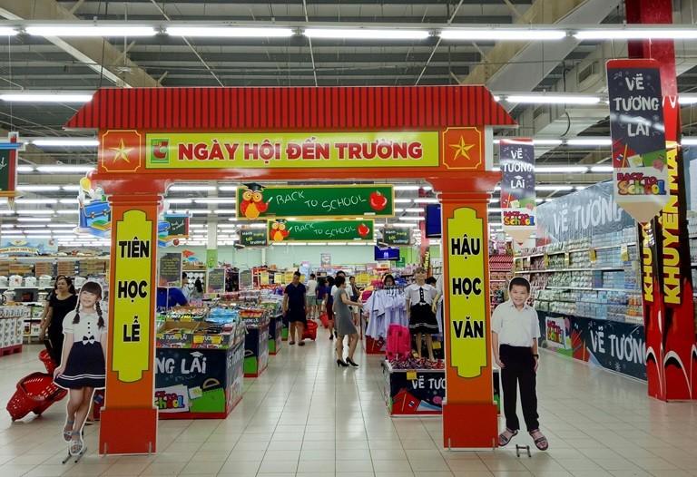Quảng cáo tại siêu thị Big C Vĩnh Phúc – Xích lại gần hơn với khách hàng