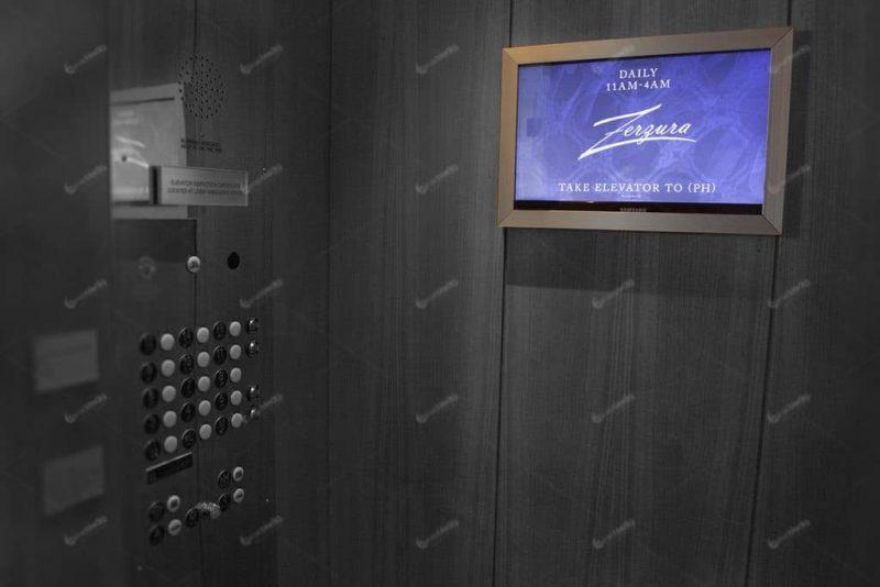 báo giá quảng cáo trong thang máy