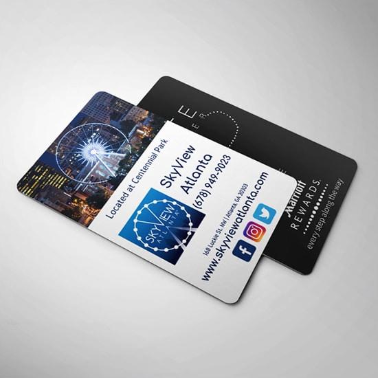 Quảng cáo trên keycard khách sạn