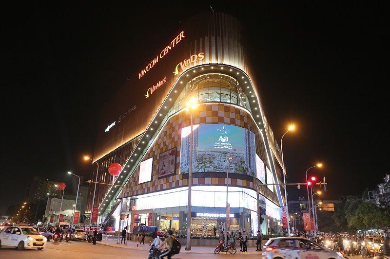 Quảng cáo tại Vincom tạo nên đẳng cấp thương hiệu