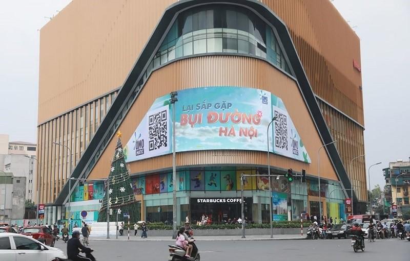 quảng cáo tại Vincom Hà Nội
