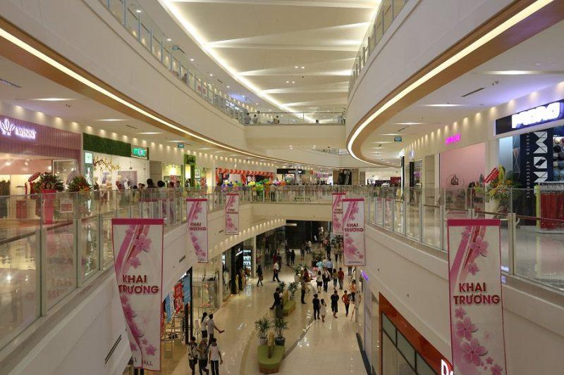 quảng cáo tại Aeon Mall TPHCM