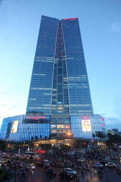 Quảng cáo tại Lotte Mart Hà Nội tạo nên hiệu quả lớn