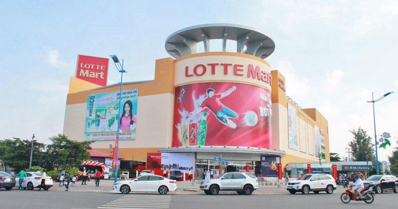 Quảng cáo tại Lotte Mart TPHCM