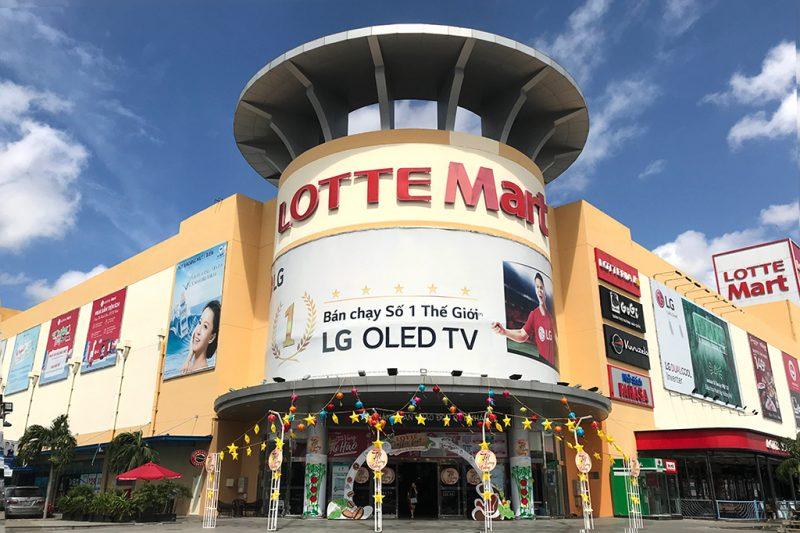 quảng cáo tại Lotte Mart Cần Thơ
