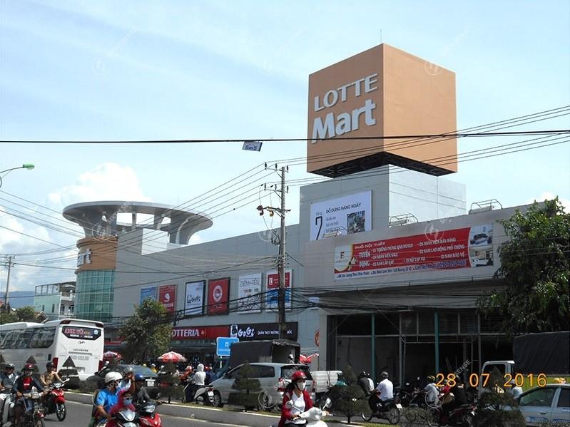 quảng cáo tại Lotte Mart Nha Trang