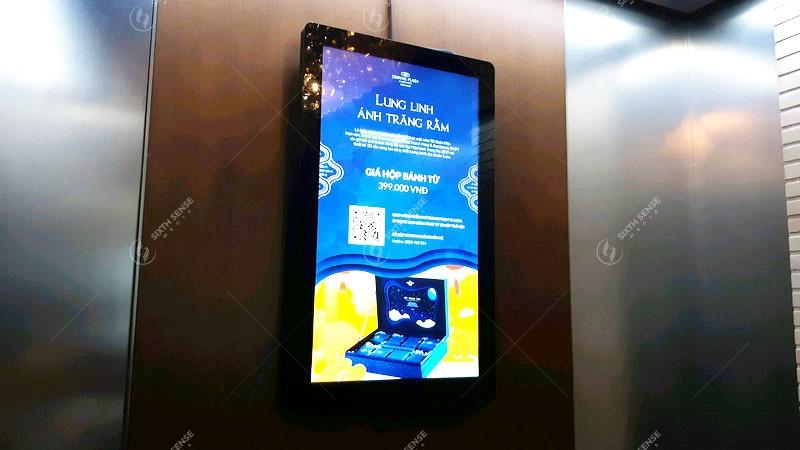 quảng cáo trong thang máy Hà Nội