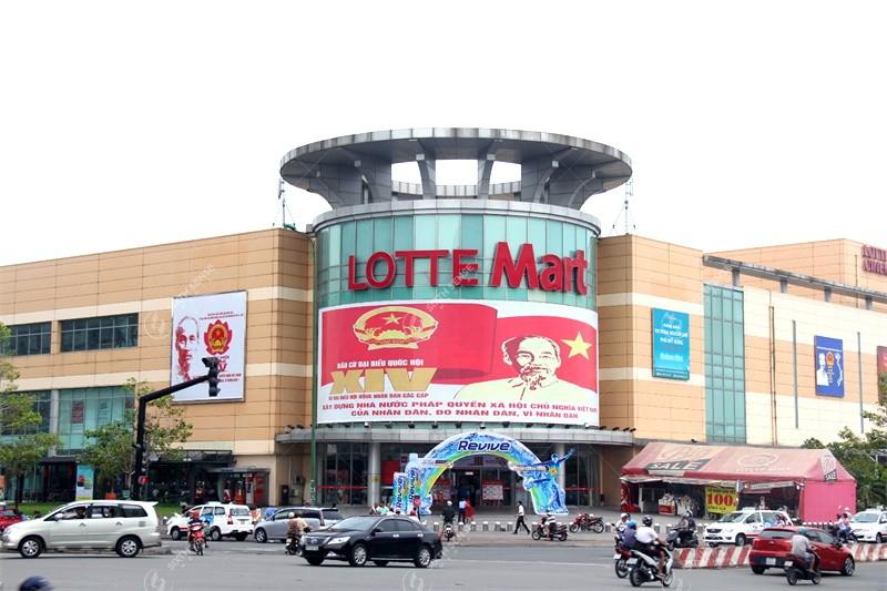 quảng cáo tại Lotte Mart Bình Dương